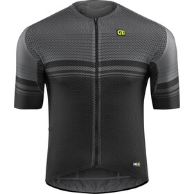 Alé Cycling Graphics PRR Slide SS Jersey Herre black-charcoal grey